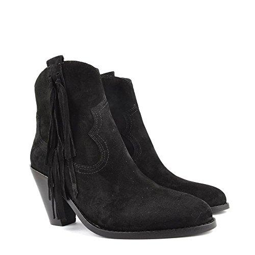 Ash Chaussures Stella Boots a Talon Femme Noir