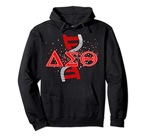 Delta DST Sigma Sorority Theta DNA Paraphernalia Pullover Hoodie -