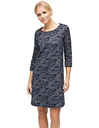 TOM TAILOR Dress gestreiftes Kleid aus Jacquard