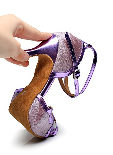 CFP, Scarpe da ballo uomo Purple