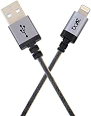 Boat LTG500 Indestructible Apple Certified Lightning Cable 2Meter (Space Grey)