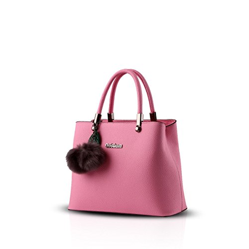 Bilis, Borsa a mano donna, Black (nero) - Bilis-853 Pink