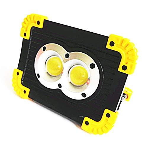 Yililay Lanterna Ricaricabile Lampada di Campeggio pratici Faretti Multiuso Portatile Esterna COB Luce di Emergenza