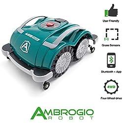 Ambrogio L60D | Zucchetti | Modèle 2018 | Pas d'installation nécessaire, Pas de câble périphérique