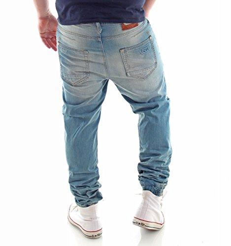 VSCT Clubwear Homme Jeans / Antifit Noah Cuffed Bleu