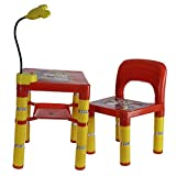 #3: e-YOP Kids Audi Table Chair Set with Led Light (RED)