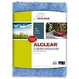 ALCLEAR 820203U_2 Allrounder à 2 Côtés Chiffon Microfibre, Bleu, 40x40 cm, Lot de 2