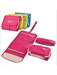 Organizer Toiletry/Wash Bag Make-up Personnel Care Organizer On Go Traveling Bag For Travel (assorted Color )