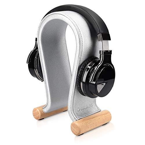 Navaris Soporte Universal para Cascos - Base para audífonos con Revestimiento de...