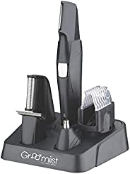 Groomiist Platinum Series Cordless Beard Trimmer Kit PT-303 (Black)