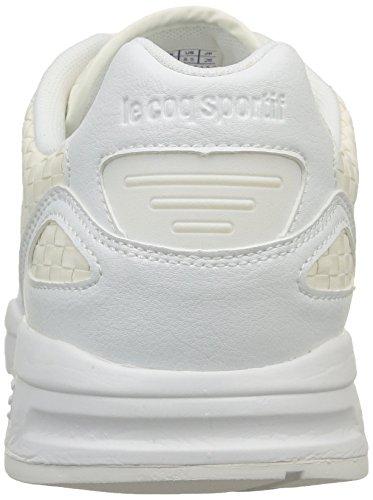 Le Coq Sportif Lcs R900 Woven, Sneakers basses mixte adulte Blanc (Optical White/Optical White)