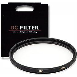 Sigma EX DG - Filtro de protección UV para objetivo de 52 mm, montura negra