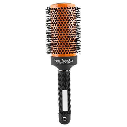 Spazzola tonda in ceramica spazzola tonda professionale per uomo o donna set di spazzole tonde per 5 pezzi spazzola tonda per asciugatura a soffio(53mm)