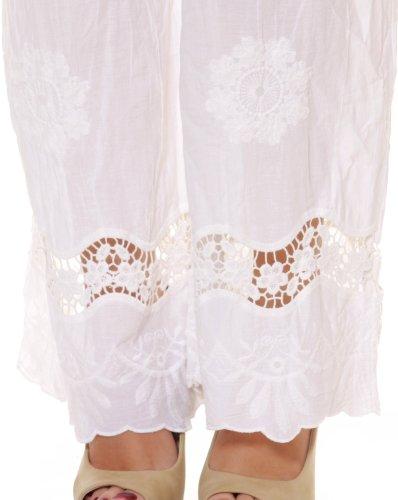Cocogio Damen Hose P138 White
