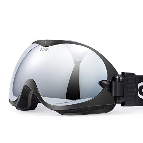 Gonex Skibrille Snowboard Brille Doppelscheibe Anti-Fog Schutzbrille für Damen und Herren