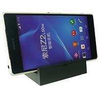 Emartbuy® Sony Xperia Z3 / Xperia Z3 Compact Estación Muelle Magnético Cargador Soporte para Escritorio Negro