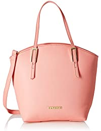 Caprese Livia Women's Tote Bag (Pink)