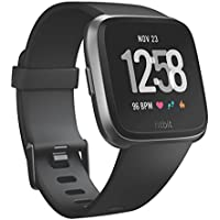 Fitbit FB505GMBK-EU - Unisex Versa Health and Fitness Smartwatch