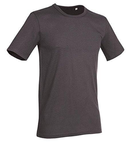 Stedman Stars Herren T-Shirt Grau Grau Grau - Slate Grey