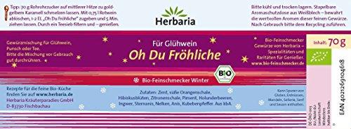 """Herbaria """"Oh Du Fröhliche"""" Bio-Gewürz für Glühwein oder Punsch - 2"""