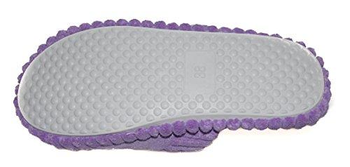 BTS -weiche en peluche à dévidage, couleur lilas-taille :  36 à 41–fabriqué dans l'uE Violet - Violet