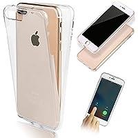 Vandot iPhone 66S-Schutzhülle Transparent rutschfest für iPhone 66S 4.7Zoll Schutzhülle Rückenprotektor Schutzhülle Slim unsichtbar Schutzhülle Cover Case aus TPU Gel Silikon Hull shell-blanc