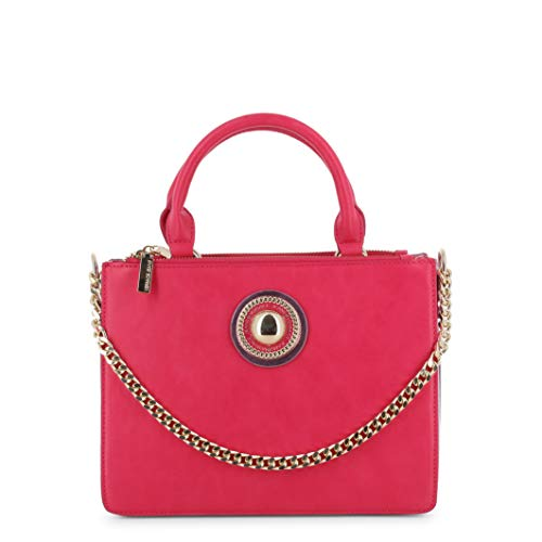 Versace jeans bag, borsa a spalla donna, rosa (fuxia), 10.5x20.5x26.5 cm (w x h x l)