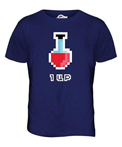 CandyMix Videogiochi Pozione Di Salute T-Shirt da Uomo Maglietta Blu Navy