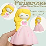 TAOtTAO Squishies-Karikatur-entzückende Prinzessin Scented Slow Rising Squeeze Stress Reliever Toy