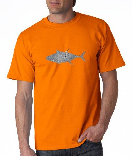 Preisvergleich Produktbild Alaskan hardgear Thunfisch Print Short Sleeve Graphic Tee,  RR-10TUN