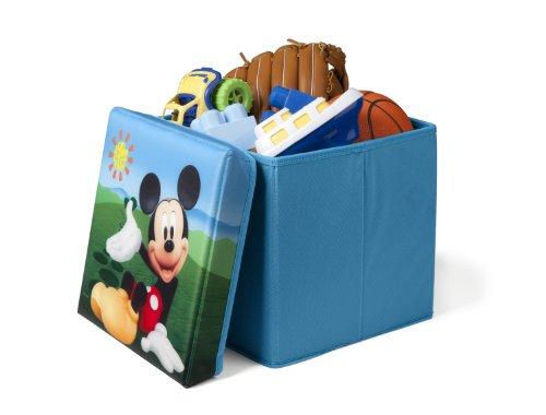 DELTA Mickey Mouse Faltbarer Sitzhocker (Blau)