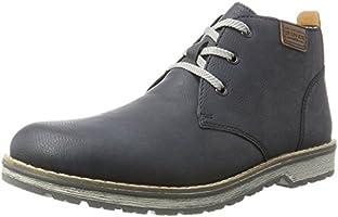 Rieker Men's nicht Angegeben Classic Boots, Blue (Lake/Mogano), 9 UK