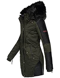 Amazon.it  parka donna verde con pelliccia - Giacche   Giacche e cappotti   Abbigliamento 921d6e6ce5fd