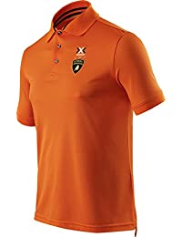 X-BIONIC for AUTOMOBILI LAMBORGHINI Polo Stripes Flag Ow Naranja L