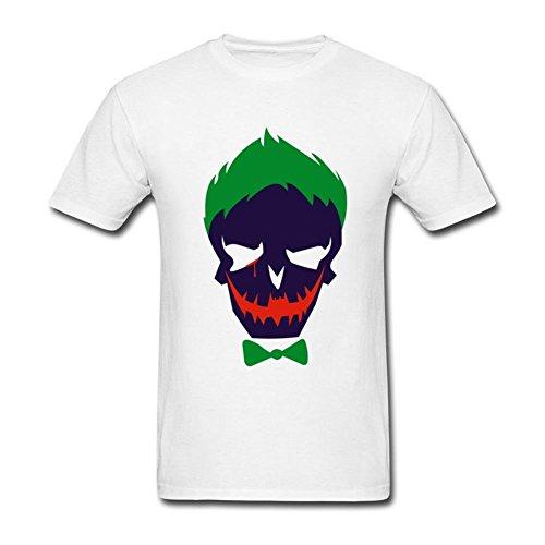 TLMKKI Hombres del Joker DIY Camiseta de algodón