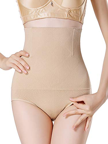 ce87409969 DotVol Women s High Waist C-Section Recovery Slimming Trainer Body Shapewear  Tummy Control Panties Briefs