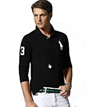 Ralph Lauren Polo à Manches Longues Big Pony Custom Fit bd4dace226d
