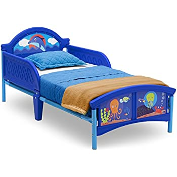 142 x 77 x 63 cm HelloHome Thomas /& Friends Toddler Bed with underbed Storage Wood Blue