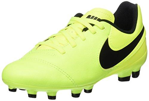 Nike Unisex-Kinder Tiempo Legend Vi Fg Fußballschuhe, Gelb (Volt/Black-Volt), 36 EU