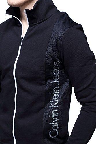 Calvin Klein - Gilet J30j305074 Husion 2 099 Noir Noir