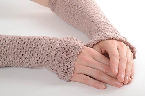 Guantes tejidos artesanales accesorios para invierno ropa de abrigo original