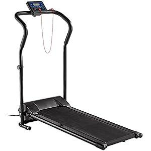 newgen medicals Laufband klappbar: Laufband LF-203.Mini mit 3 Sport-Programmen, zusammenklappbar (platzsparendes Laufband)