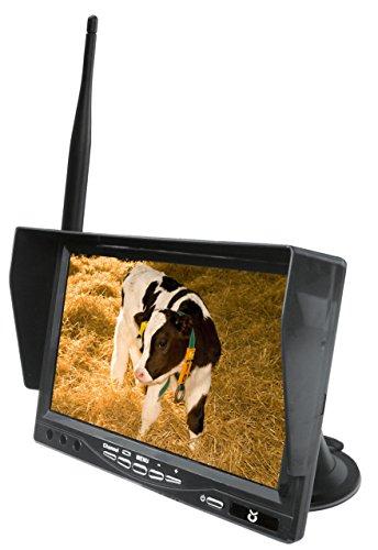 Kerbl 322082 LCD Ersatzmonitor, 7 Zoll Pferd Anhänger-Überwachung
