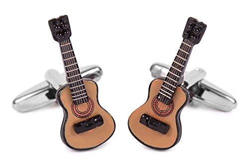 SoloGemelos - Gemelos Guitarra Española - Marrón