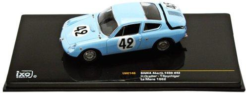 Ixo - Lmc146 - Véhicule Miniature - Modèle À L'Échelle - Simca Abarth 1300 - Le Mans 1962 - Echelle 1/43