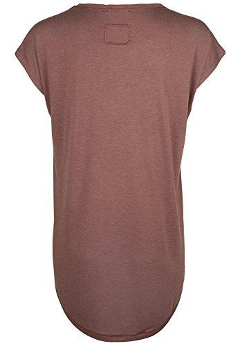 TIGHA Damen Shirt EFFI rust red melange