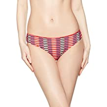 Heidi Klum Swimwear Damen Bikinihosen Catalina Kisses Classic Bikini, Mehrfarbig (Black Iris/Whitestri Rtpp), 34 (Herstellergröße:XS)