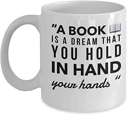 Buch-Liebhaber-Kaffeetasse-Bibliothekar-Geschenk-Lesezeichen-lustige Geschenke für Leser