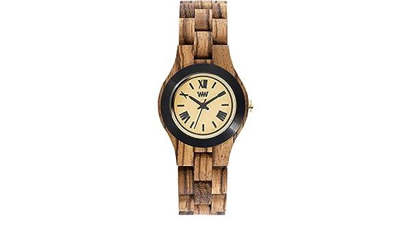 Ww33007Uhren Damen Criss Armbanduhr Wewood Holz Mb Zebrano 4R5jAL