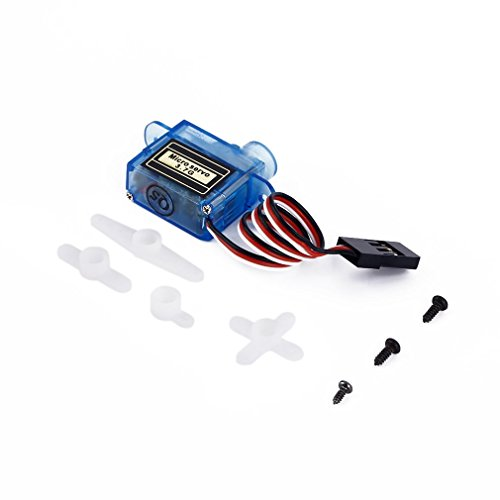 Kebidu 3.7g Mini Micro Servo RC plane Helicopter Boat Car+  available at amazon for Rs.476